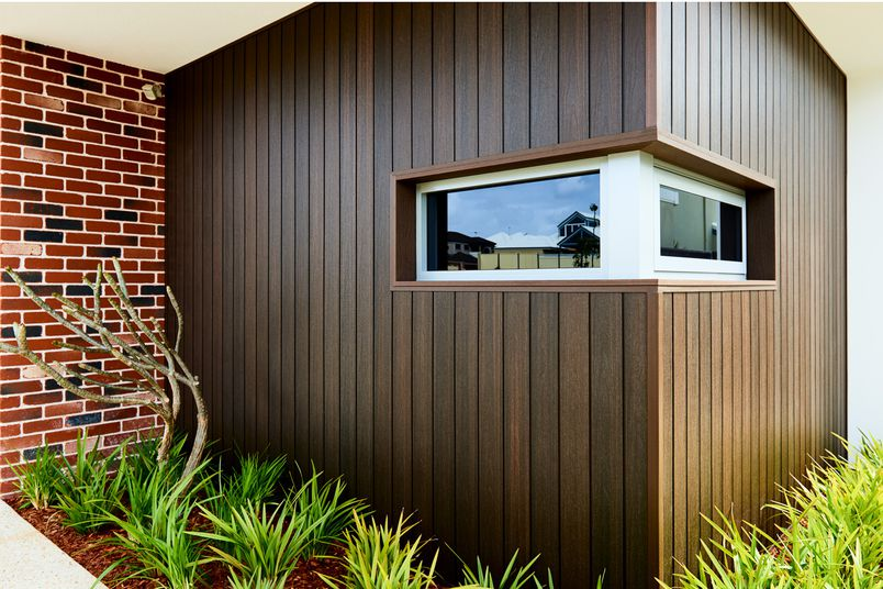 Composite External Wall Cladding Advanced Capped By Newtechwood Selector